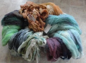 Mohair Yarn and Roving